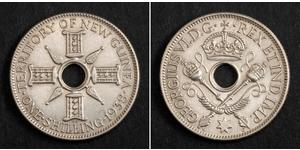 1 Shilling Nouvelle-Guinée Argent George VI (1895-1952)