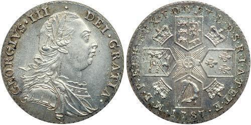 1 Shilling Royaume de Grande-Bretagne (1707-1801) Argent George III (1738-1820)