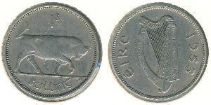 1 Shilling Irlanda (1922 - ) Argento