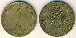 1 Shilling Republic of Austria (1955 - ) Bronze/Aluminium