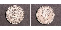 1 Shilling British Cyprus (1914–1960) Copper/Nickel George VI (1895-1952)