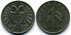 1 Shilling Federal State of Austria (1934-1938) Copper/Nickel