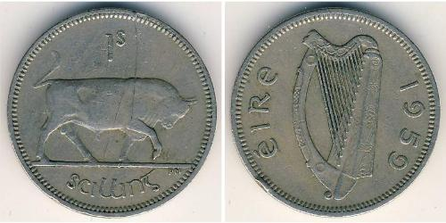 1 Shilling Ireland (1922 - ) Copper/Nickel
