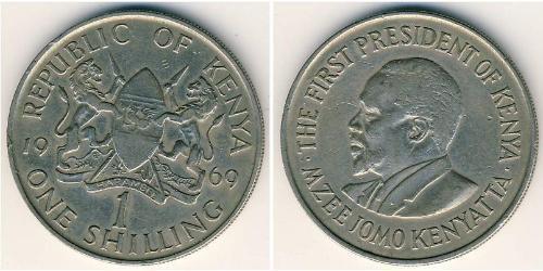 1 Shilling Kenya Copper/Nickel