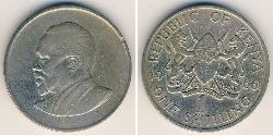 1 Shilling Kenia Kupfer/Nickel