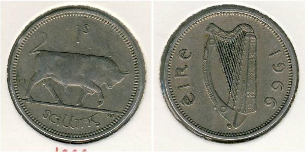 1 Shilling Irlanda (1922 - ) Níquel/Cobre