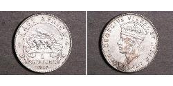 1 Shilling África Oriental Plata Jorge VI (1895-1952)