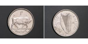1 Shilling Irlanda (1922 - ) Plata