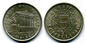 1 Shilling Geschichte Österreichs (1918-1934) Silber
