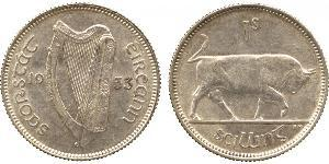 1 Shilling Irland (1922 - ) Silber