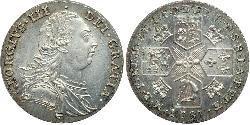 1 Shilling Königreich Großbritannien (1707-1801) Silber Georg III (1738-1820)