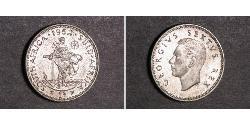 1 Shilling Südafrika Silber Georg VI (1895-1952)