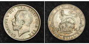 1 Shilling Vereinigtes Königreich Silber George V (1865-1936)