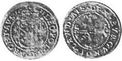 1 Shilling Alsace Silver Leopold V, Archduke of Austria (1586 – 1632)