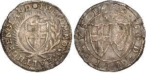 1 Shilling Commonwealth of England (1649-1660) Silver