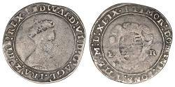 1 Shilling Kingdom of England (927-1649,1660-1707) Silver Edward VI  (1537-1553)