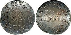 1 Shilling Kingdom of England (927-1649,1660-1707) Silver