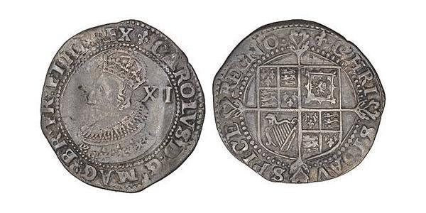 1 Shilling Kingdom of England (927-1649,1660-1707) Silver Charles I (1600-1649)