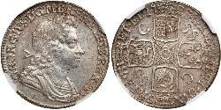 1 Shilling Kingdom of Great Britain (1707-1801) Silver George I (1660-1727)