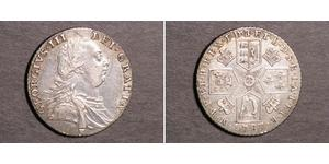 1 Shilling Kingdom of Great Britain (1707-1801) Silver George III (1738-1820)