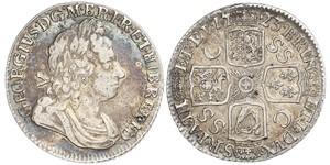 1 Shilling Kingdom of Great Britain (1707-1801) Silver George I (1660-1727)