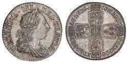 1 Shilling British Empire (1497 - 1949) / Kingdom of Great Britain (1707-1801) Silver George III (1738-1820)