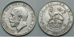1 Shilling United Kingdom Silver George V of the United Kingdom (1865-1936)