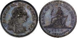1 Shilling United Kingdom of Great Britain and Ireland (1801-1922) Silver George III (1738-1820)