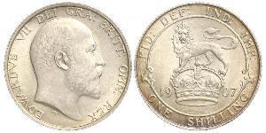 1 Shilling United Kingdom of Great Britain and Ireland (1801-1922) Silver Edward VII (1841-1910)