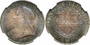 1 Shilling United Kingdom of Great Britain and Ireland (1801-1922) Silver Victoria (1819 - 1901)