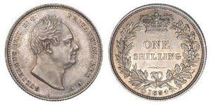 1 Shilling United Kingdom of Great Britain and Ireland (1801-1922) Silver William IV (1765-1837)