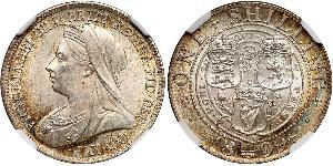1 Shilling United Kingdom of Great Britain and Ireland (1801-1922) Silver Victoria (1819 - 1901)