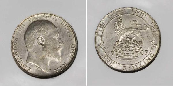 1 Shilling United Kingdom of Great Britain and Ireland (1801-1922) Silver Edward VII (1841-1910)