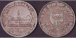 1 Shilling / 1 Token Regno Unito di Gran Bretagna e Irlanda (1801-1922) Argento