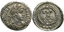 1 Siliqua 拜占庭帝国 銀 瓦伦斯
