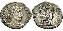 1 Siliqua Byzantinisches Reich (330-1453) Silber Valens (328-378)