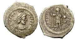 1 Siliqua Byzantinisches Reich (330-1453) Silber Justin II (520-578)