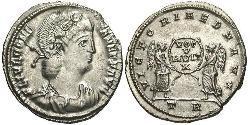 1 Siliqua Römische Kaiserzeit (27BC-395) Silber Constans I (320-350)