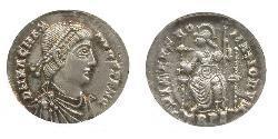1 Siliqua Weströmisches Reich (285-476) Silber Magnus Maximus (335-388)