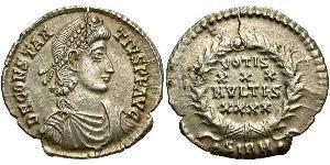 1 Silique Empire romain (27BC-395) Argent Constance II (317 - 361)