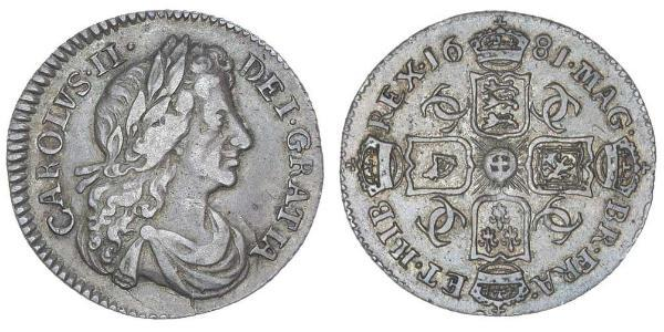 1 Sixpence Regno d