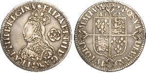 1 Sixpence Königreich England (927-1649,1660-1707) Silber Elizabeth I (1533-1603)
