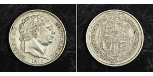 1 Sixpence / 6 Penny 大不列颠及爱尔兰联合王国 (1801 - 1922) 銀 喬治三世 (1738-1820)