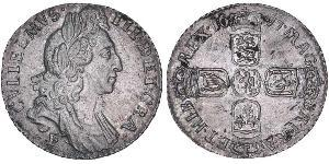 1 Sixpence / 6 Penny Royaume d