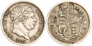 1 Sixpence / 6 Penny Vereinigtes Königreich von Großbritannien und Irland (1801-1922) Silber Georg III (1738-1820)
