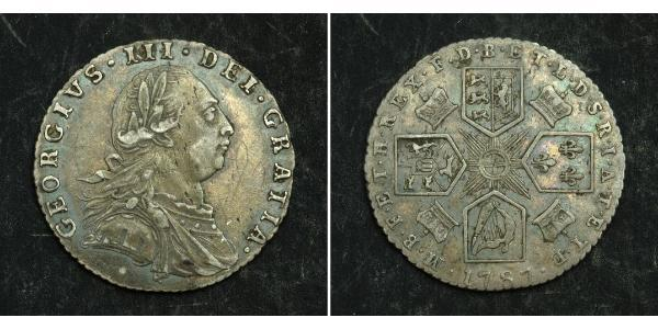 1 Sixpence / 6 Penny United Kingdom Silver George III (1738-1820)