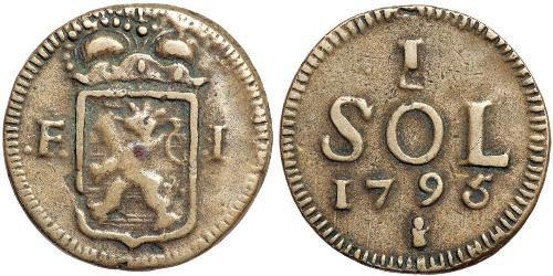 1 Sol Luxembourg Copper