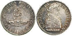1 Sol Bolivien (1825 - ) Silber