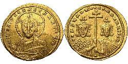 1 Solidus Візантійська імперія (330-1453) Золото Костянтин VII (905 -959)