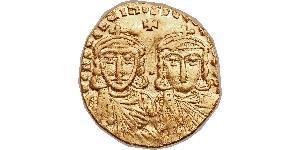 1 Solidus 拜占庭帝国 金 君士坦丁五世
